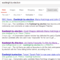 Eastleigh by-election - Google search results