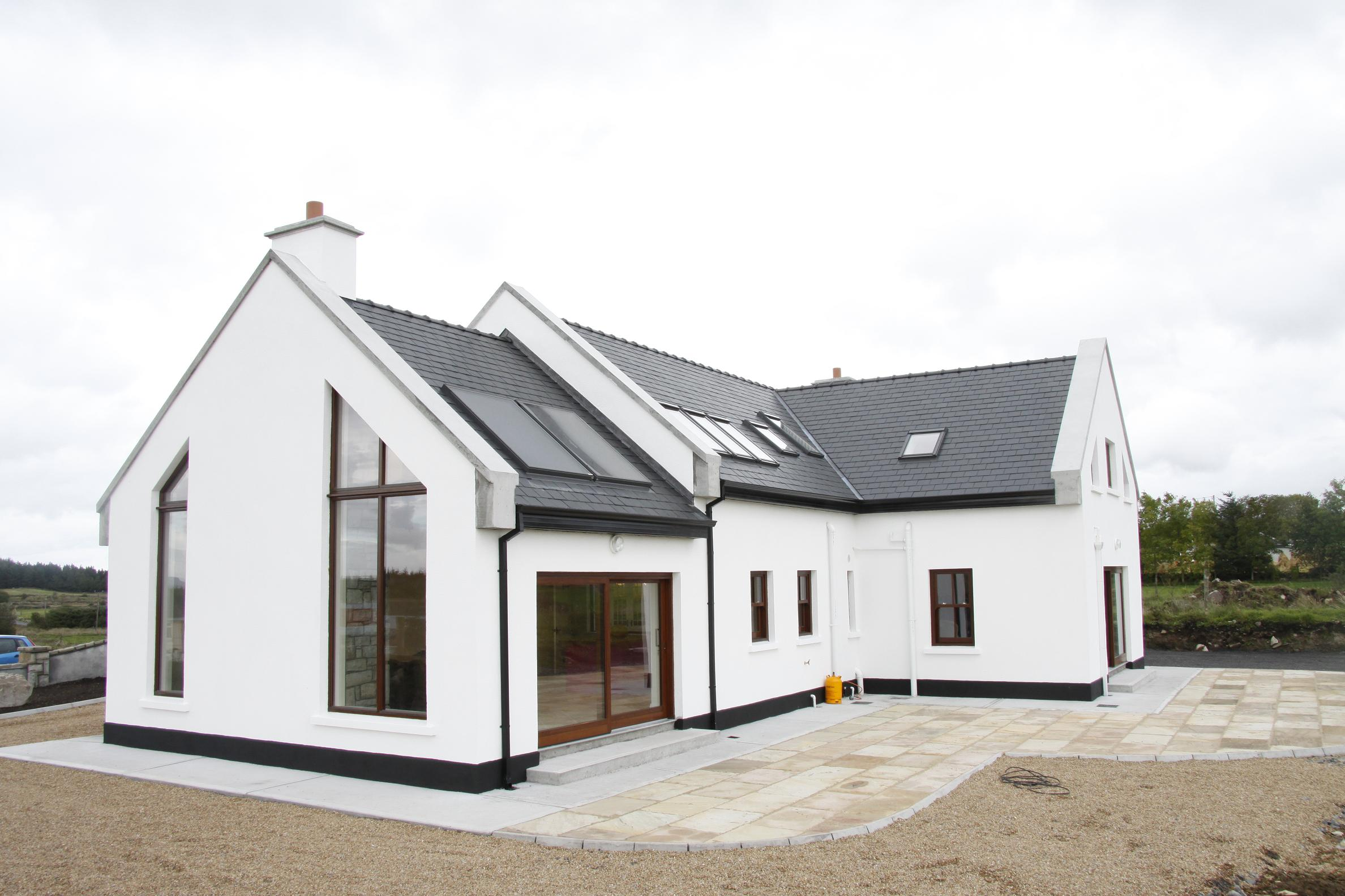 Modern irish house design