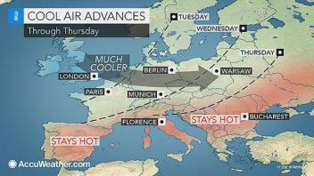 From Heatwave To Mid July Snow & Frost?? 45C Heat Swelters Spain!