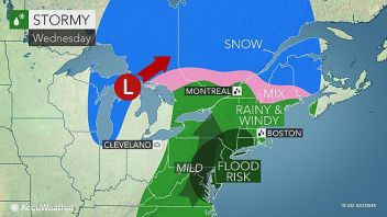 Snow From Blizzard 2016 Is Wiped Out Within 4 Days But Snow Likely To Return Within 4 Days