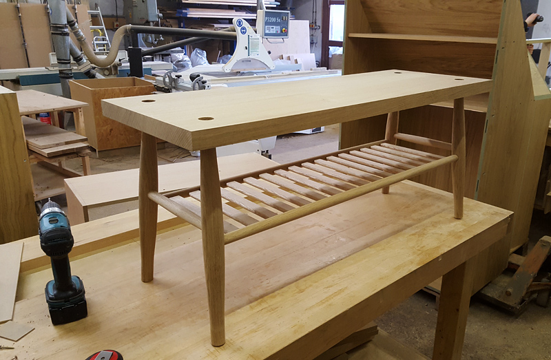 bench by Mark Williamson Furniture