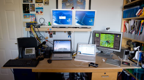 My desk, in my home office