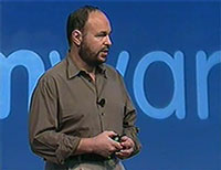 VMware President and CEO, Paul Maritz, speaking at the vSphere 4 launch