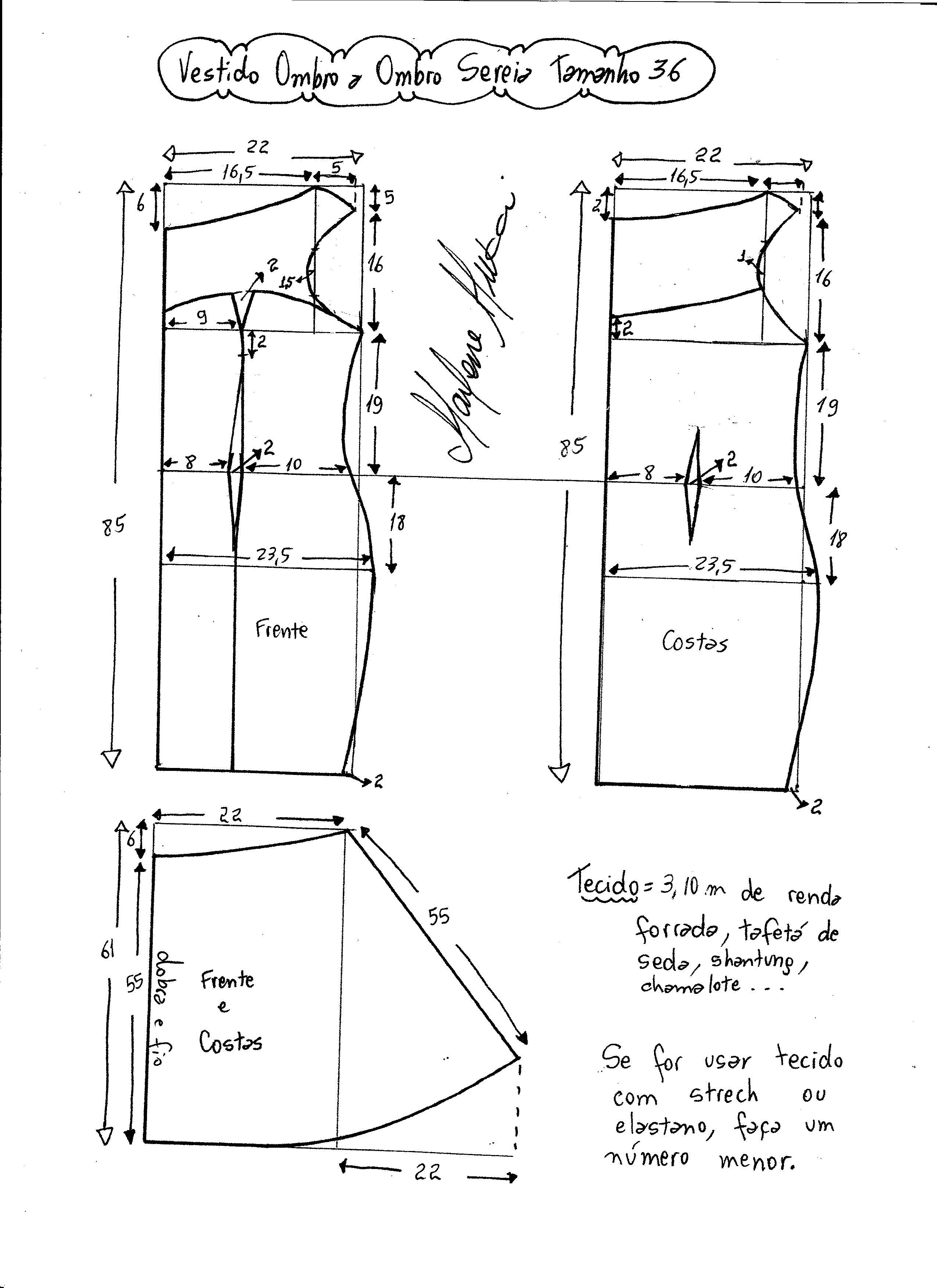 Сшить платье или сарафан без выкройки 282
