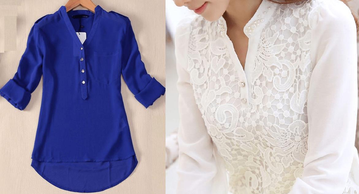Пошив блузок своими руками
