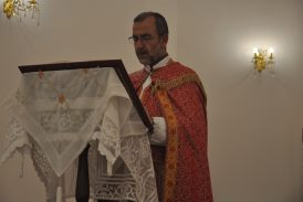 مراسيم سهرة وقداس عيد القيامة في كنيسة مارنرساي