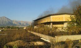 incendio vigili del fuoco Avezzano (2)