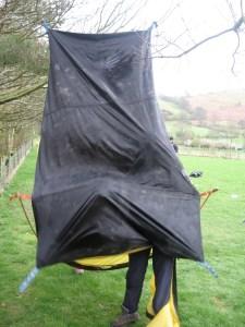 Walking Tent!