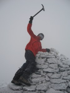 The top of the world - well, Cairngorm anyway!
