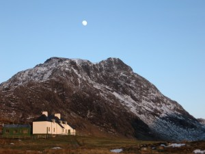 A Mhaighdean from Carnmore bothy