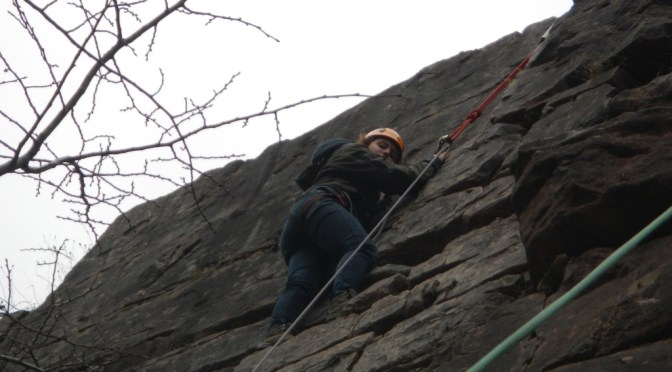 Tara's Rock Climbing Party