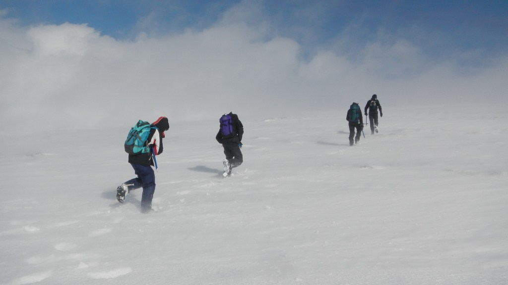 The final push for the summit