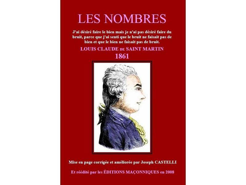 Louis-Claude de Saint-Martin: Les Nombres - Intro