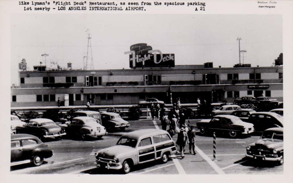 A photo history of nightmare lax travel from 1928 for Lax long term parking lot