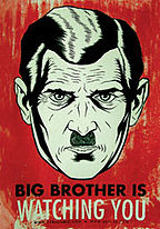 Big Brother 1984 Nineteen Eighty-four Orwellian