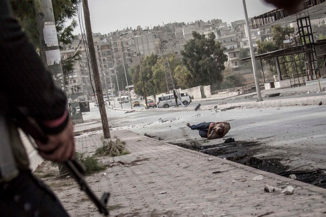 war in Syria gore killing
