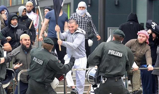 Bonn Germany riot copy