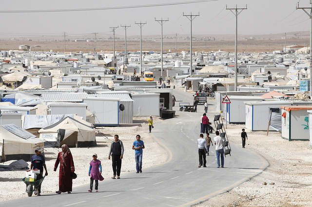 refugee camp Jordan