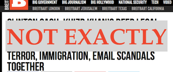 Breitbart screenshot