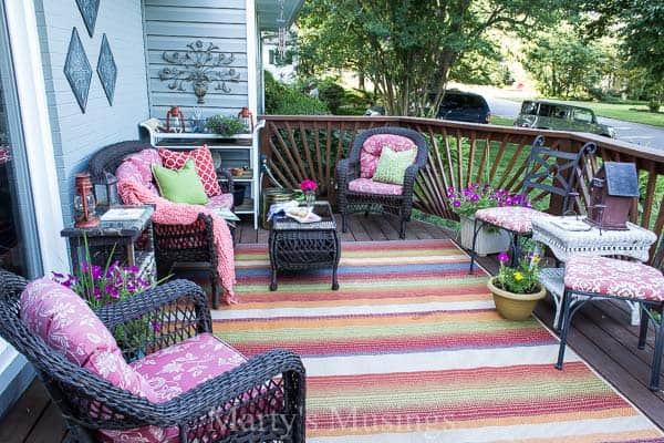 Deck Decorating Ideas on a Budget Try these 5 deck decorating ideas on a budget to create a gorgeous outdoor  room with