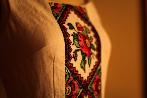 Ukrainian Russian hand embroidered dress marusya marusya
