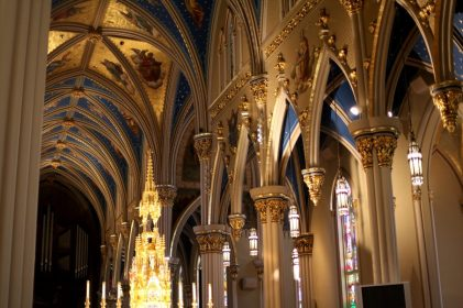 Notre Dame Basilica South Bend Indiana Wedding