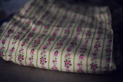 Ukrainian Floral Pink Cotton Floral Fabric Marusya