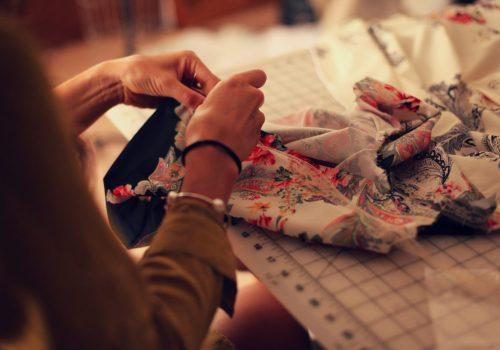 how to sew, preshrink, wash and cut silk burdastyle webinar