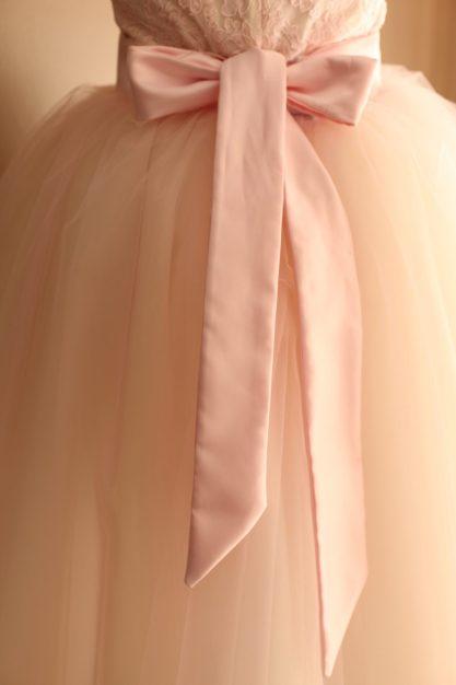 Blush Pink Tulle Skirt Adult wedding