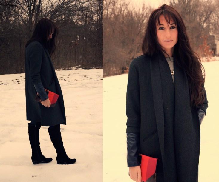 Charcoal coat 1