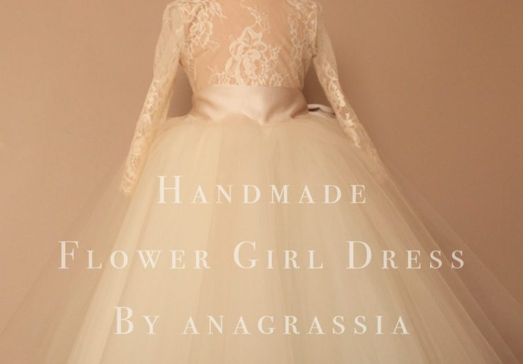 Champagne Chantilly lace leotard onesie flower girl dress