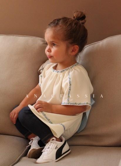 kids bohemian dress top blouse Ukrainian