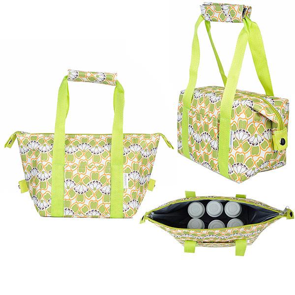 Autumnz - Chic 2-in-1 Convertible Cooler Bag (Fresh Bells)