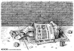 Economy Improving cartoon
