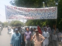 Lahore-Wapda Hydro Union Protest for Pay Raise 02