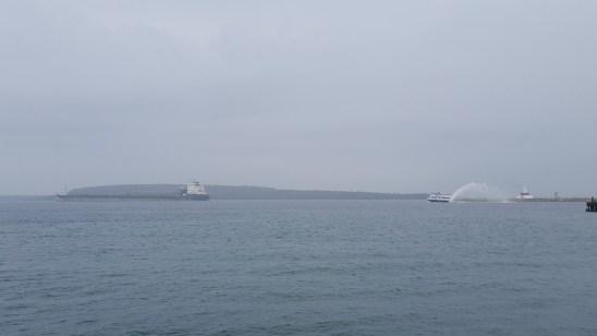 Ferry vs Tanker