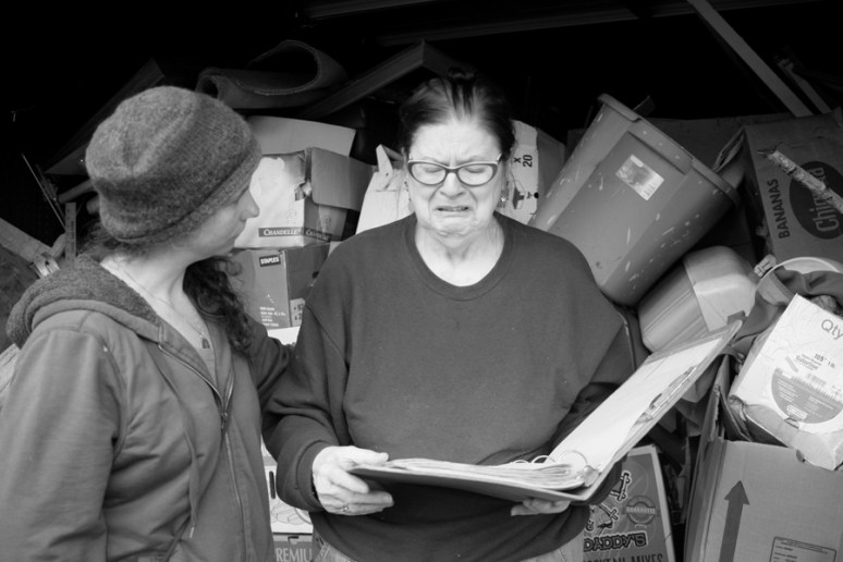 Community Love and Support. Boots On The Ground by Mary Anne Funk. Portland, Oregon