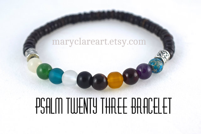 Psalm 23 Bracelet 6 mm small