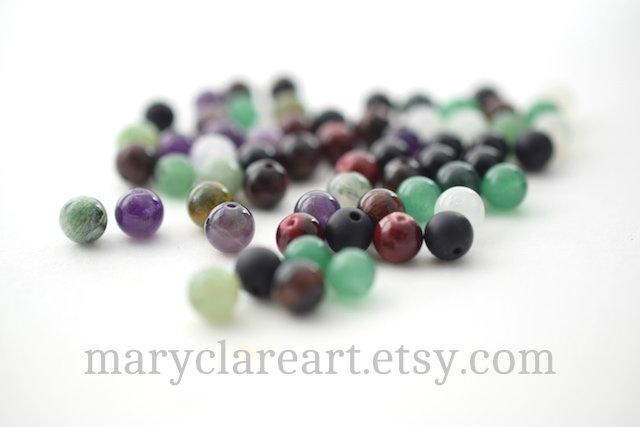 Psalm 23 Semi Precious Stone Beads