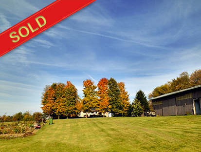 Dundalk 9.5 Acre Hobby Farm w/ Stocked Trout Pond, Barn & Bungalow