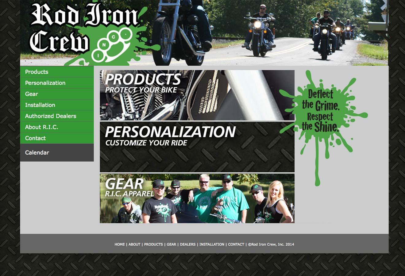 Rod Iron Crew Website