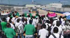 Manifestacon protesta Penal Michapa Cefereso