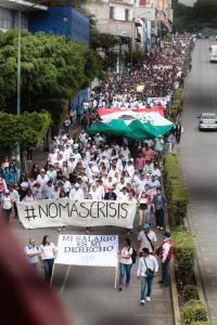 Marcha UAEM2