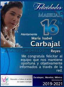 Isabel Felicitacion