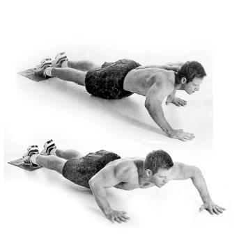 Flexiones escalonadas