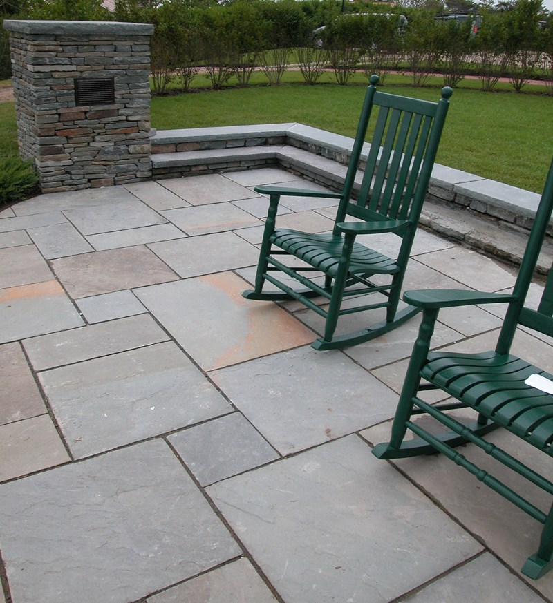 Large Of Blue Stone Patio