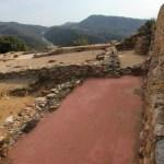 Paviment natural Sauló Sòlid de color. Terra estabilitzada