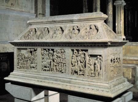 arca di San Cerbone - Goro di Gregorio (1324)