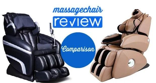 Osaki OS-7200h vs Osaki OS-7075R Massage Chair Comparison