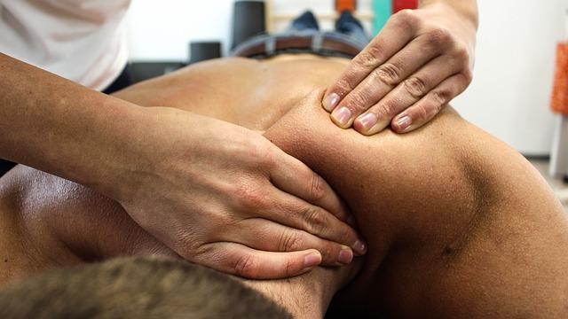 postura del massaggiatore